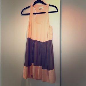 Lining 100% silk dress